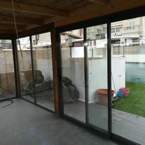Cerramiento de terrazas y balcones